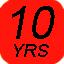 10 years CAST vinyl