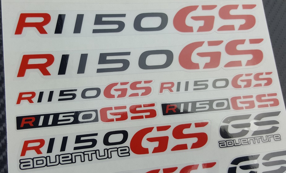 R1150GS Adventure motorrad motorcycle quality stickers decal set bmw r1150 GS